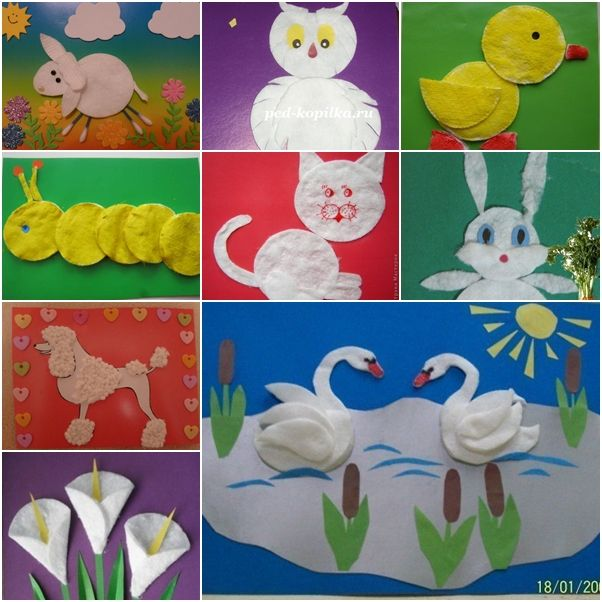 Art And Craft Ideas With Cotton
