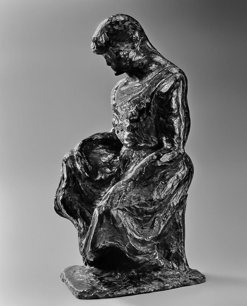 sculpture / anne-marie Bernaudat / NINI LA CASSE-COUILLES