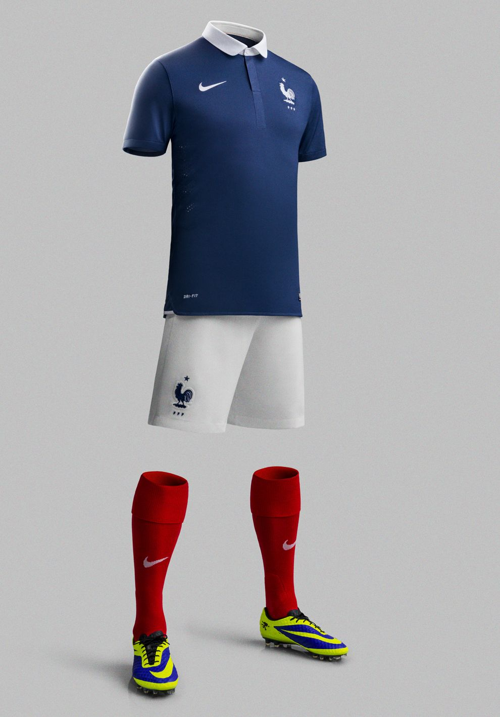 6a1eac281 France National Football Team Kit for 2014 x Nike