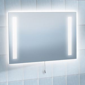 Bathroom Mirrors With Lights Built In built in mirror light for bathroom | dream home | pinterest