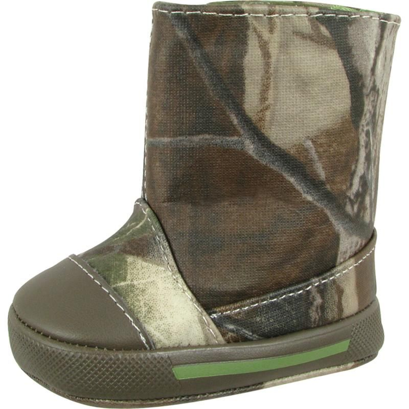 Camo Crawling Boots How Cute Camo Baby Boots Baby
