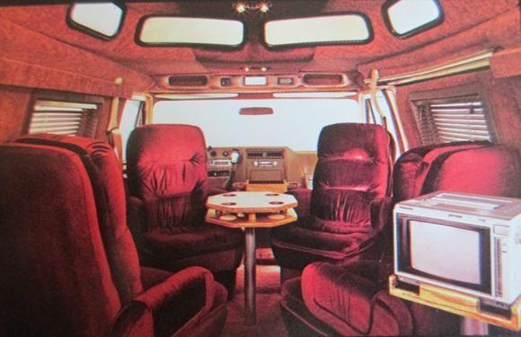 V8-VAN-INTERIOR-IDEAS | van interiors | Chevrolet van, Van ...