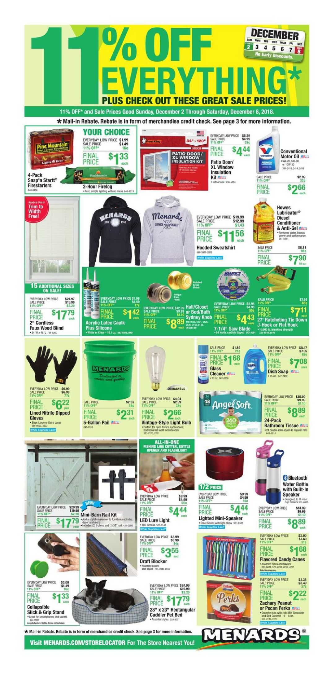menards coupon august 2019