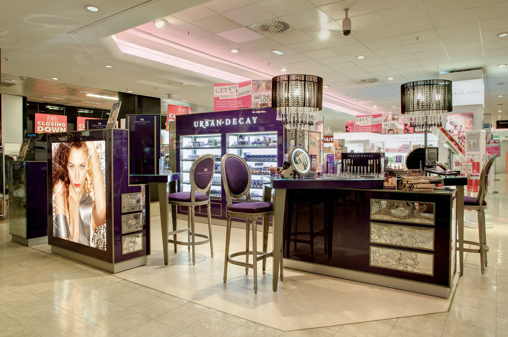 Urban Decay Gets New Look In Store From Retail Design Firm
