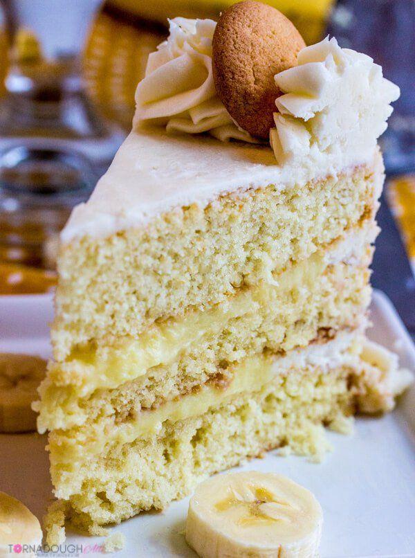 Banana Cream Cake Recipe Banana Blueberry Fruity Bombs Pinterest