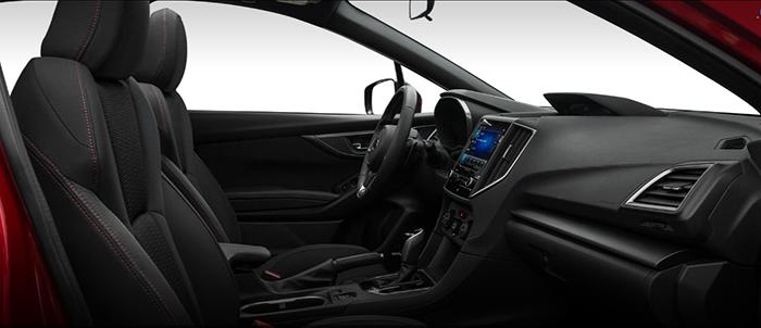 2019 Subaru Impreza 2 0i Sport Sedan Interior Subaru Pinterest