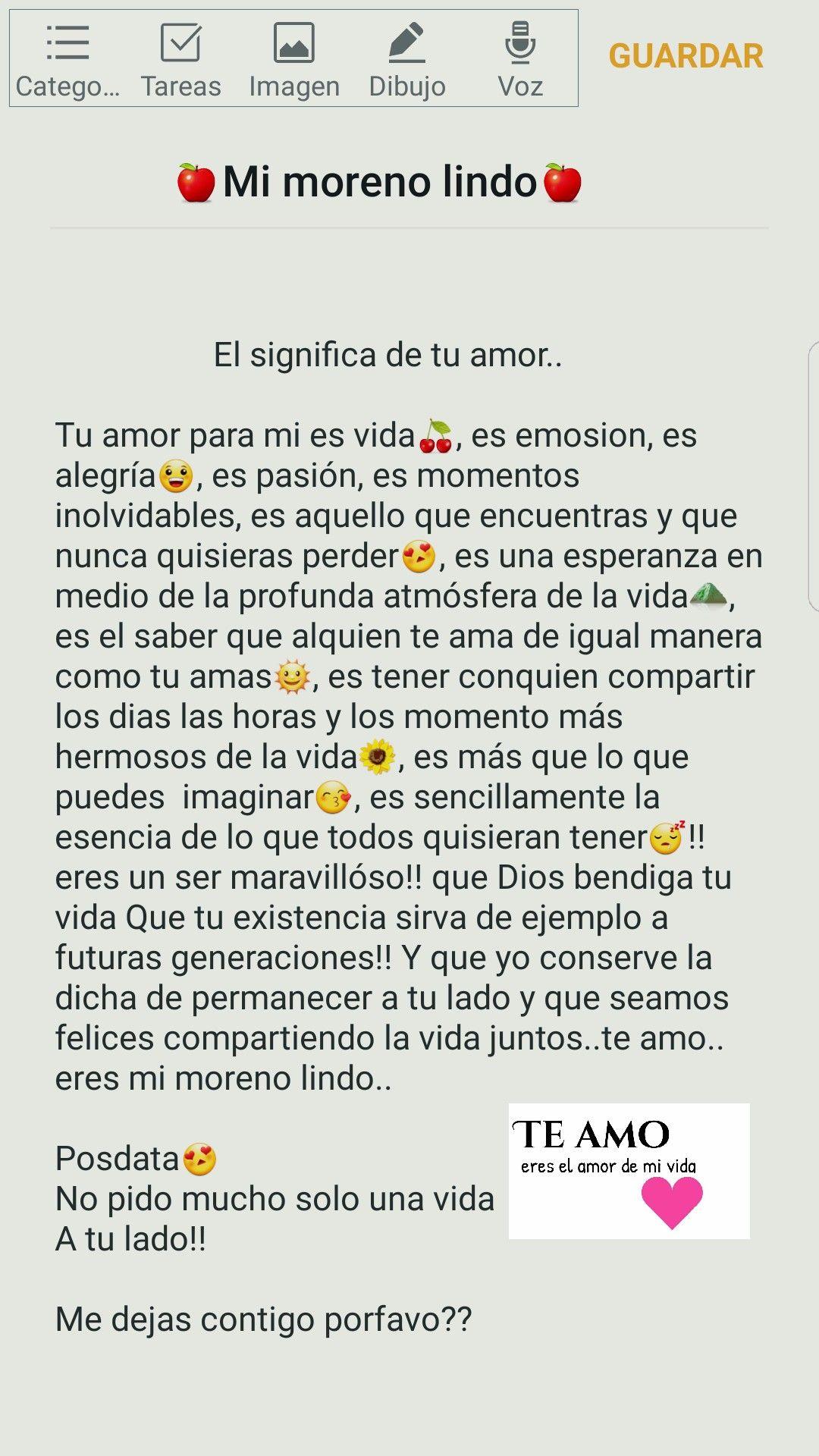 Carta Dedicadas Al Amor Novios Pinterest Frases Relationships