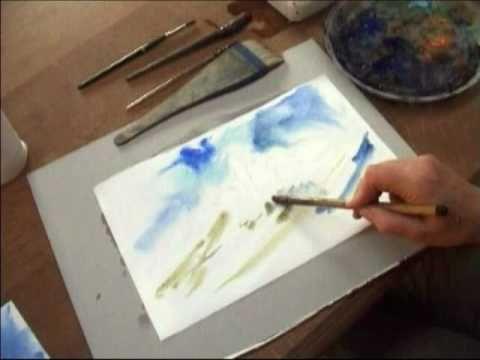 l 39 aquarelle enseign aux d butants les vid os illustrent les cours th oriques du site www. Black Bedroom Furniture Sets. Home Design Ideas