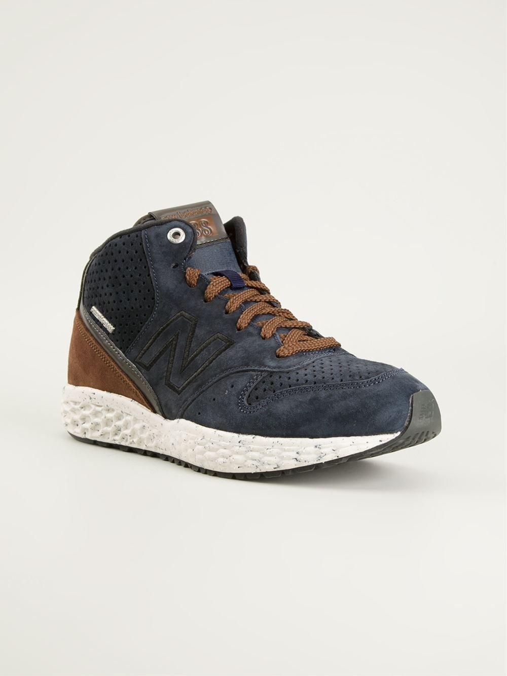 NEW BALANCE '988' hi-top sneakers