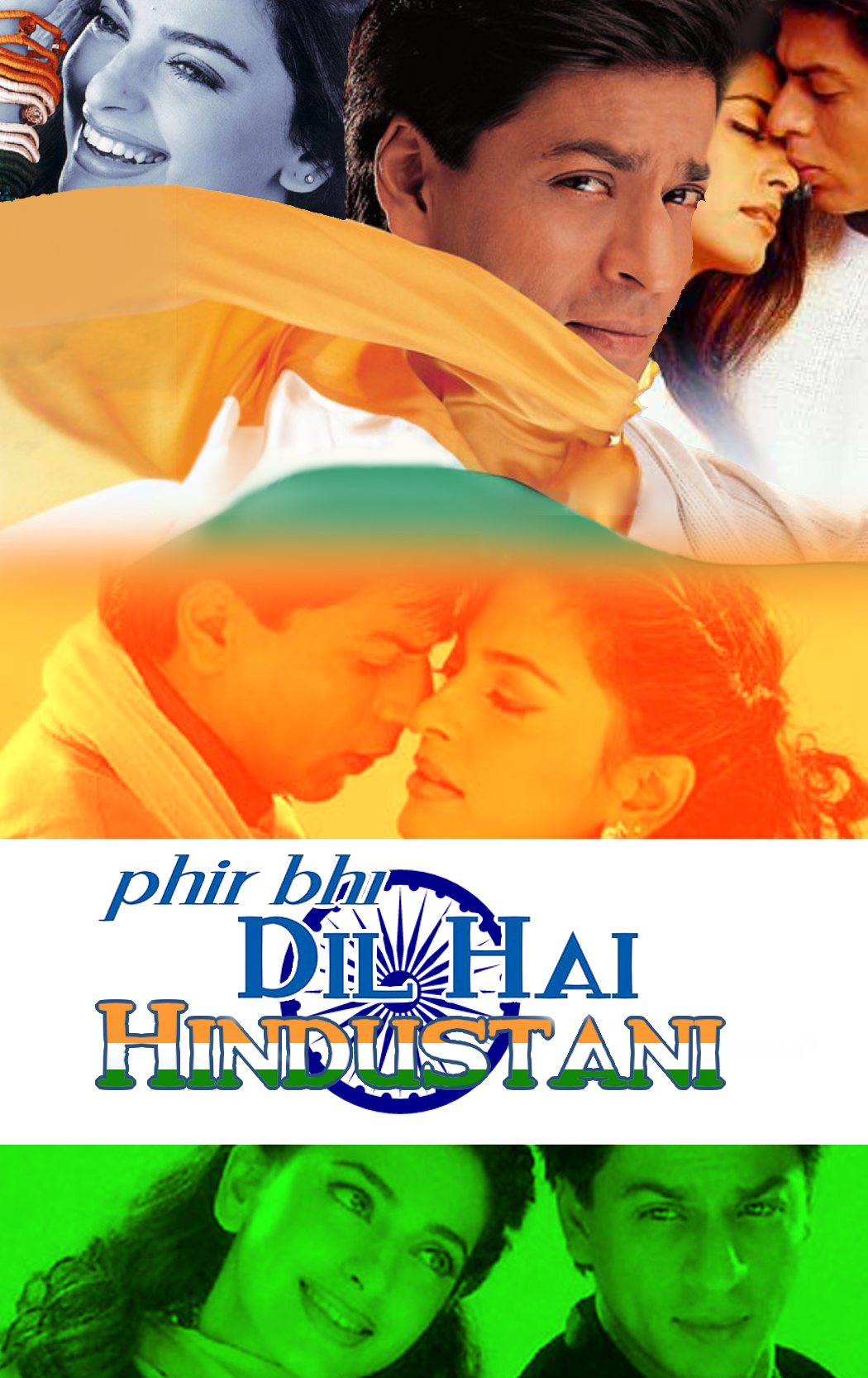 phir bhi dil hai hindustani poster Bollywood movies