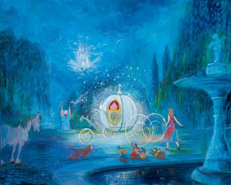A Dream is a Wish Your Heart Makes Cinderella Giclee on ... A Dream Is A Wish Your Heart Makes Hd