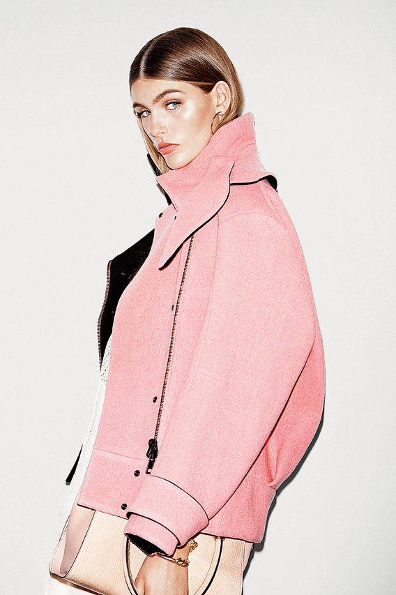 Chloe Pink Coat