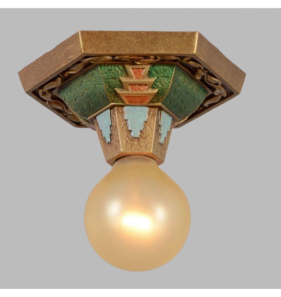 Egyptian Revival Beam Light by Markel, c1930 | Rejuvenation