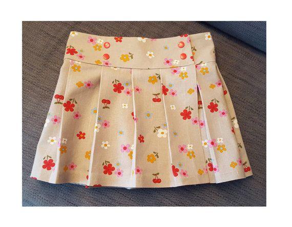 Kilt Girl Skirt Pattern Pdf Sewing Tartan Or Any Woven