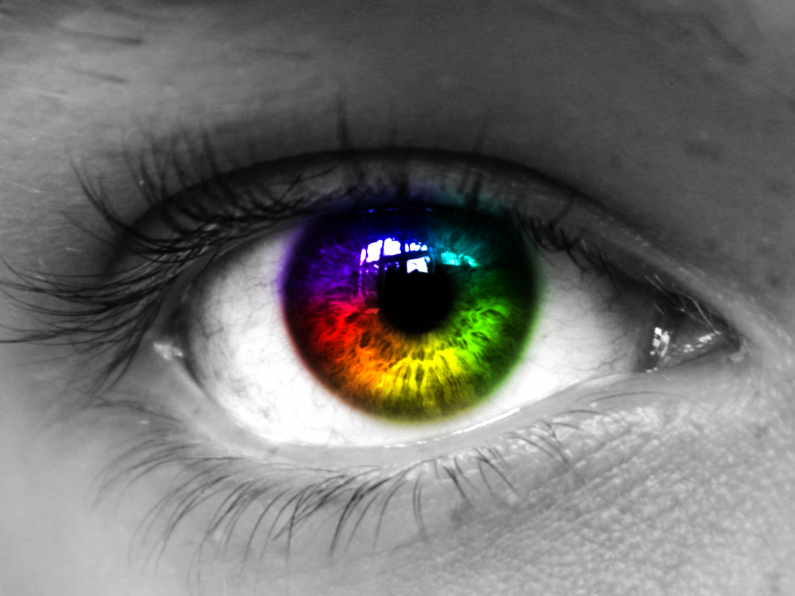 rainbow eye - Google Search | rainbow aesthetics ...
