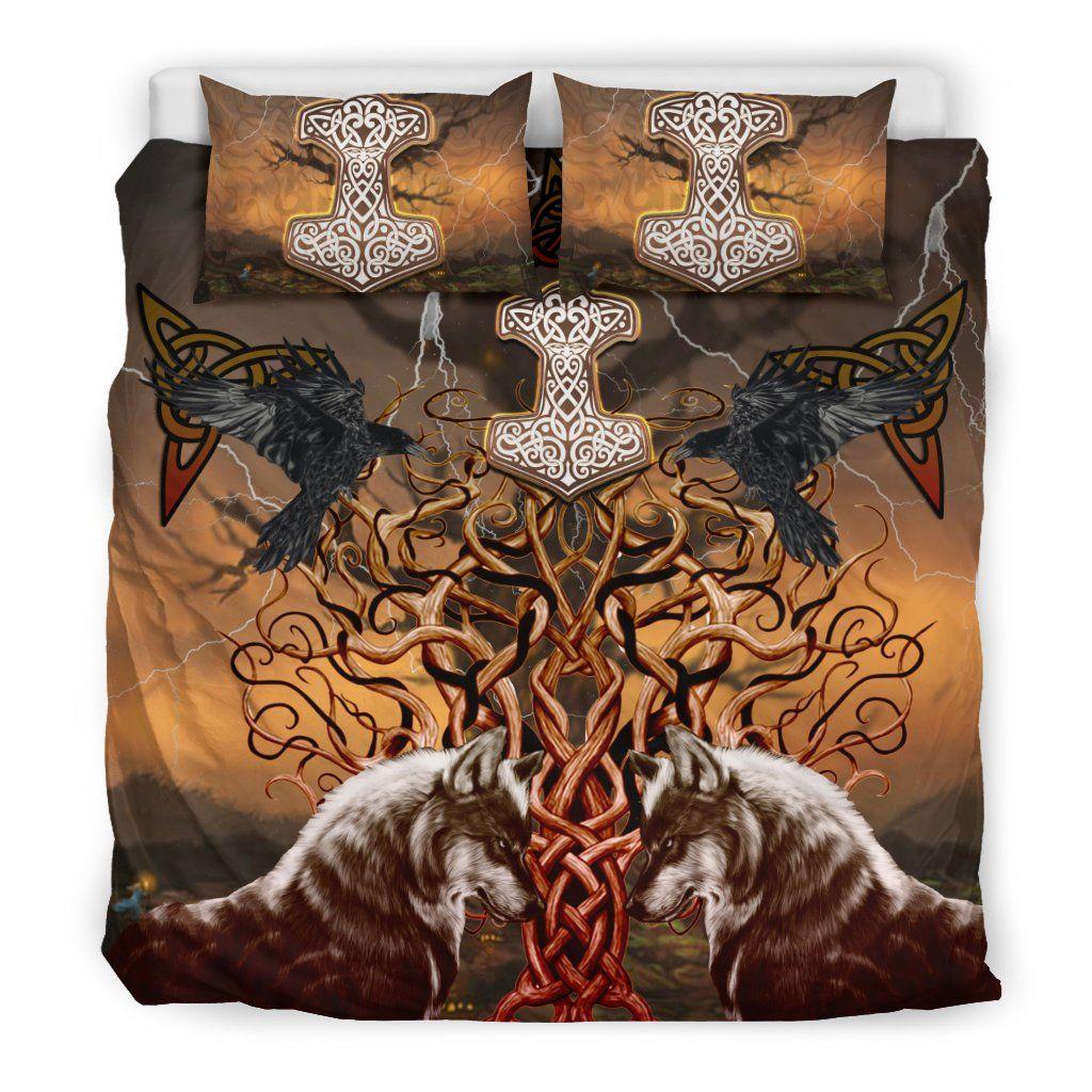 Viking Wolf Bedding Set K4 Bedding set, Bedroom set