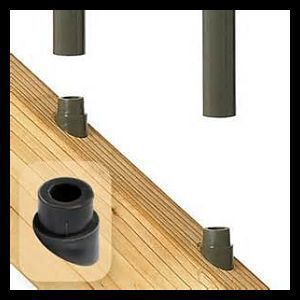 Best Stair Connectors For Round Balusters By Deckorators Diy 400 x 300