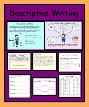 descriptive writing format pdf