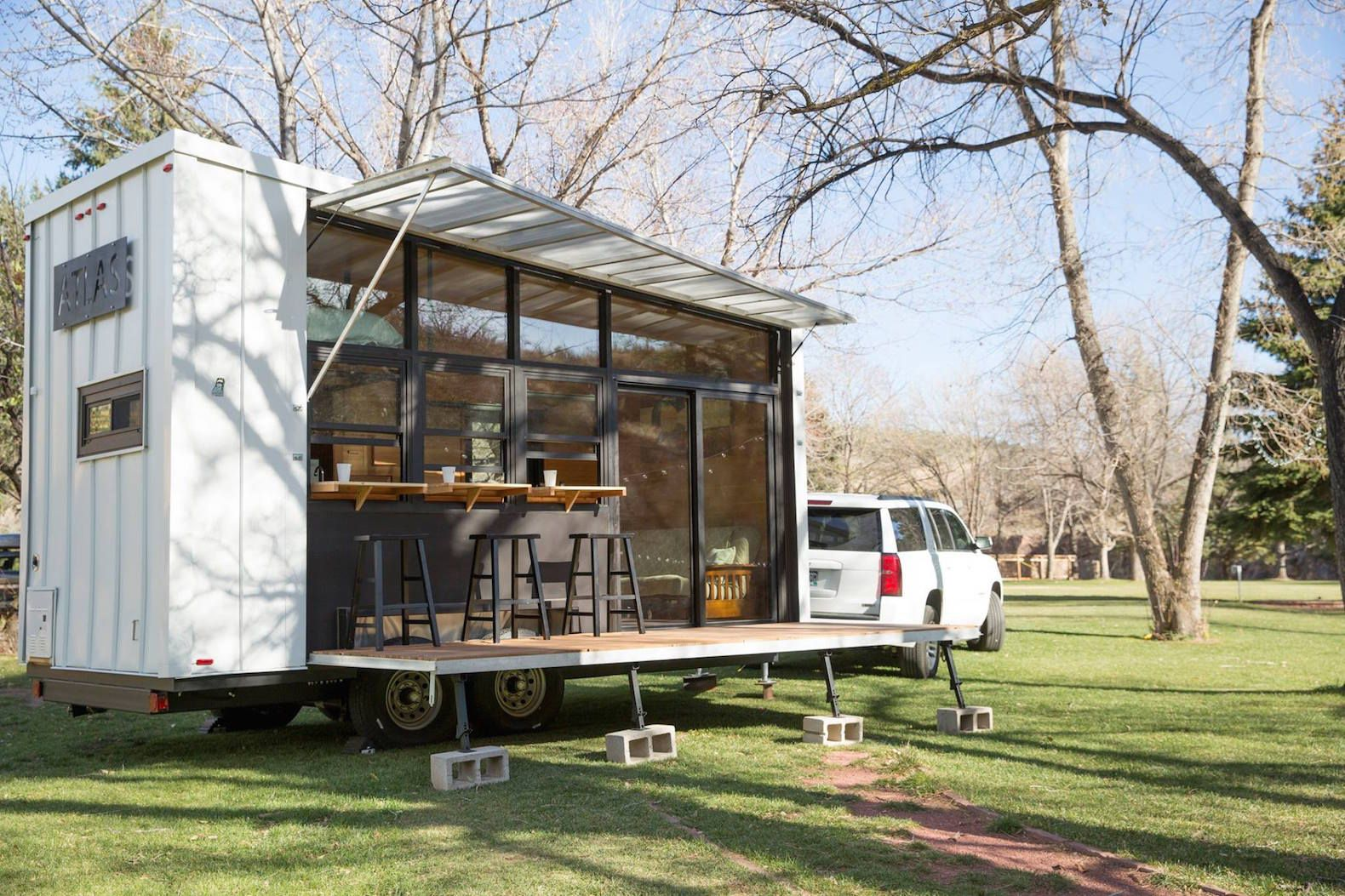 Marvelous 17 Images About Mobile On Pinterest Tiny Homes On Wheels Micro Largest Home Design Picture Inspirations Pitcheantrous