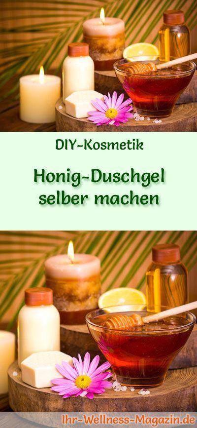 Honig-Duschgel selber machen – Rezept und Anleitung