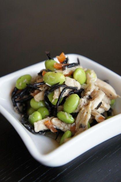 コンビニに置いてある枝豆のサラダが好きで作ってみました♡私のお気に入りレシピです♡