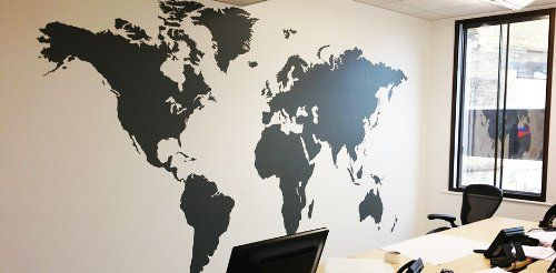 Diy world map wall art mural decal sticker living room office diy world map wall art mural decal sticker living room office decorations global map home dcor okbuy wall stickers gumiabroncs Image collections