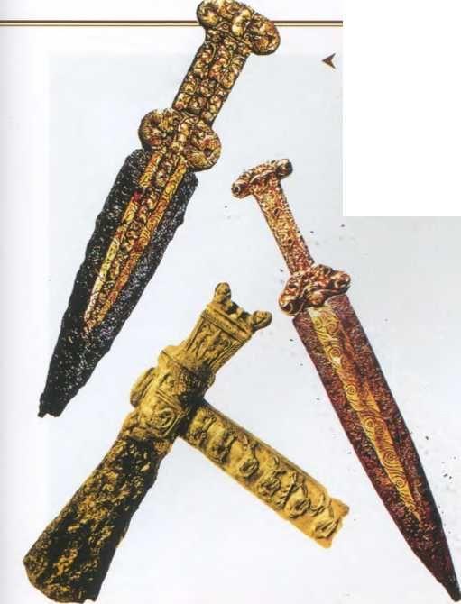 Скифо сарматы мечи железные картинки