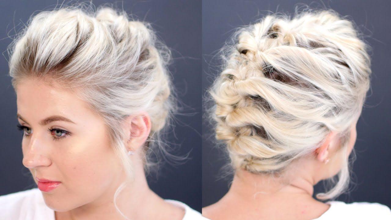 braids wedding hairstyles for short hair short hair tutorial
