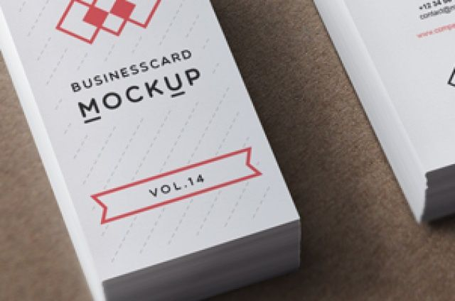 Volume 14 of our psd business card mock up template with a vertical psd business card mock up vol14 psd mock up templates flashek Image collections