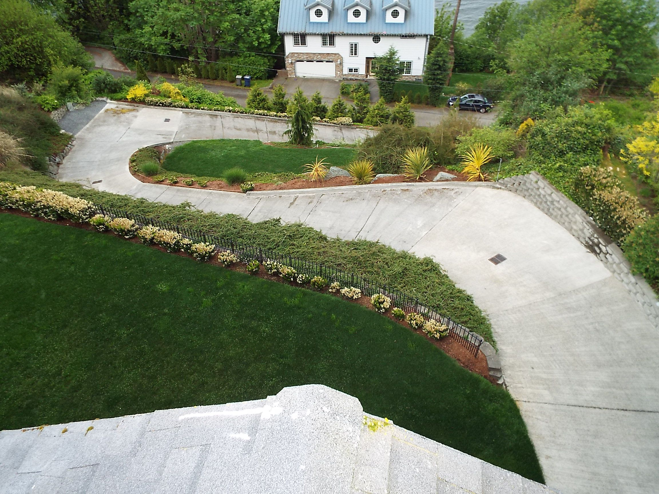 Do you have a steep driveway something you might not for Steep driveway construction