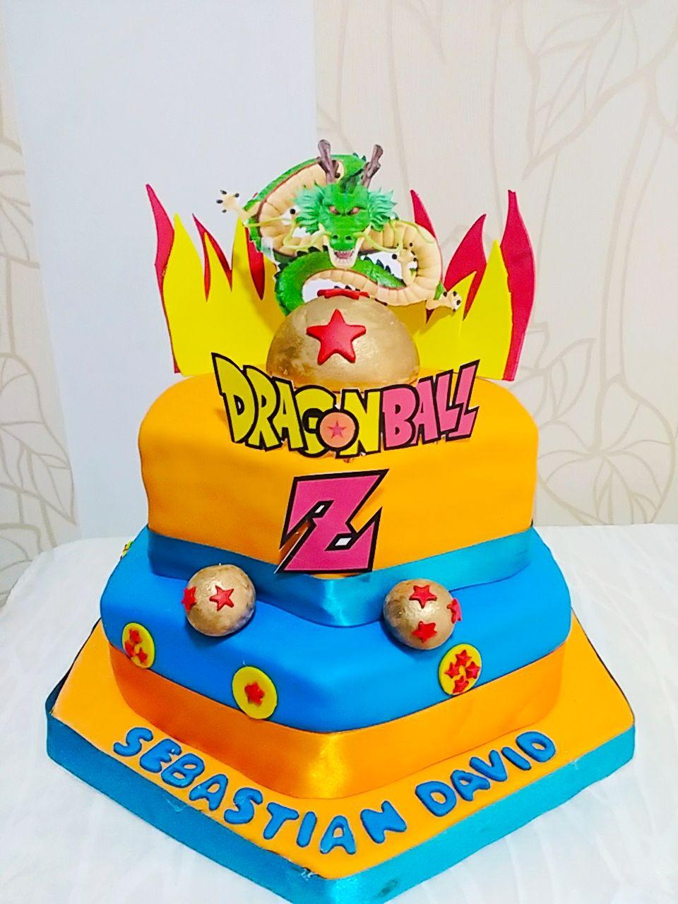 Dragon Ball Z Cake Decorations Cake Torta Dragon Ball  Ideias  Pinterest  Dragon Ball And Cake