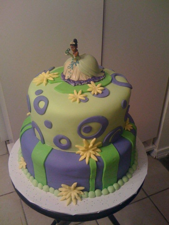 Fantastic Princess Tiana Birthday Cakes Beautiful Wedding Cake And Funny Birthday Cards Online Aeocydamsfinfo