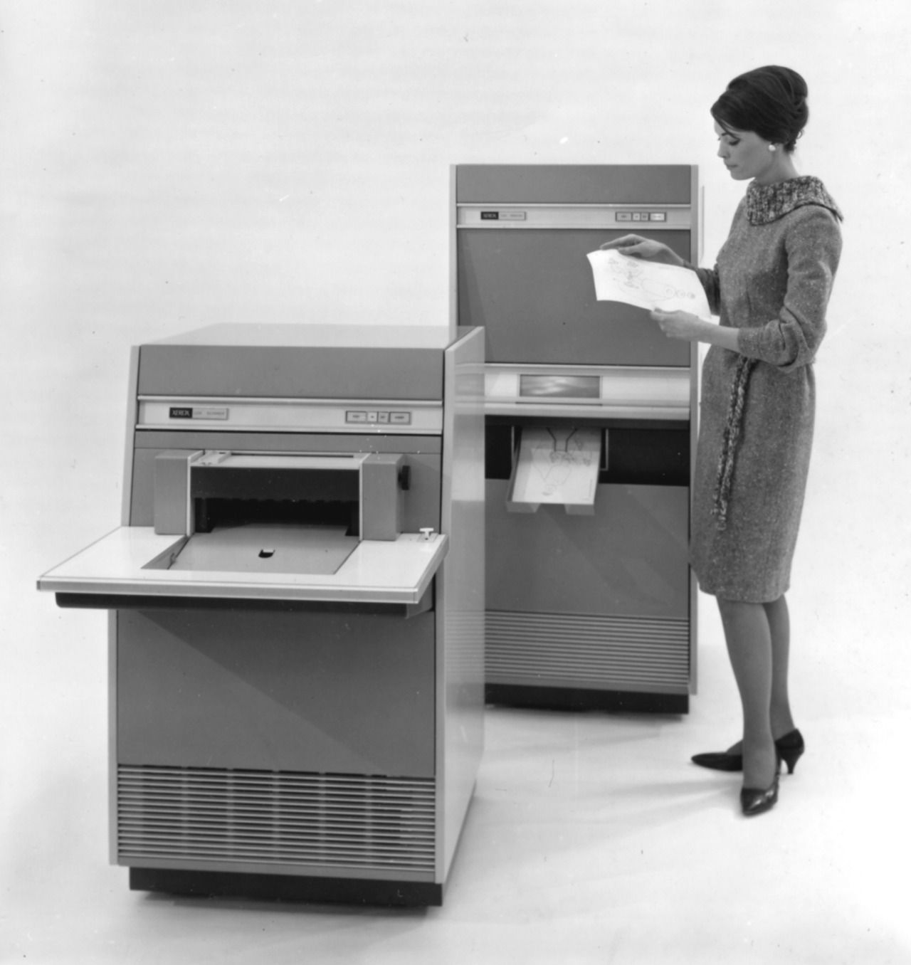 Xerox Expanded Into Facsimile With Its Ldx Long Distance