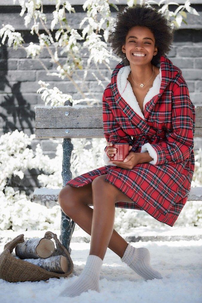 b4517a527bd321 Womens Next Red Tartan Robe - Red | Products | Fashion, Tartan plaid ...