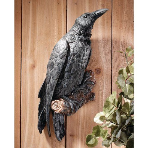 Image Result For Crow Door Knocker Bird Statues Gothic Decor Wall Sculptures