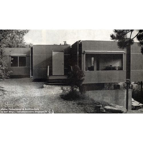 Prototype modular home, 1972, by #JeanProuve, #ClaudeProuvé and