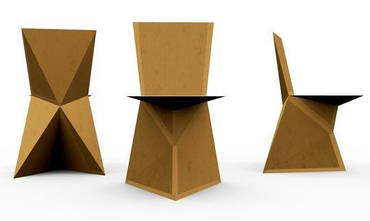 Kraftwerk The Diy Cardboard Chair Cardboard Chair Diy