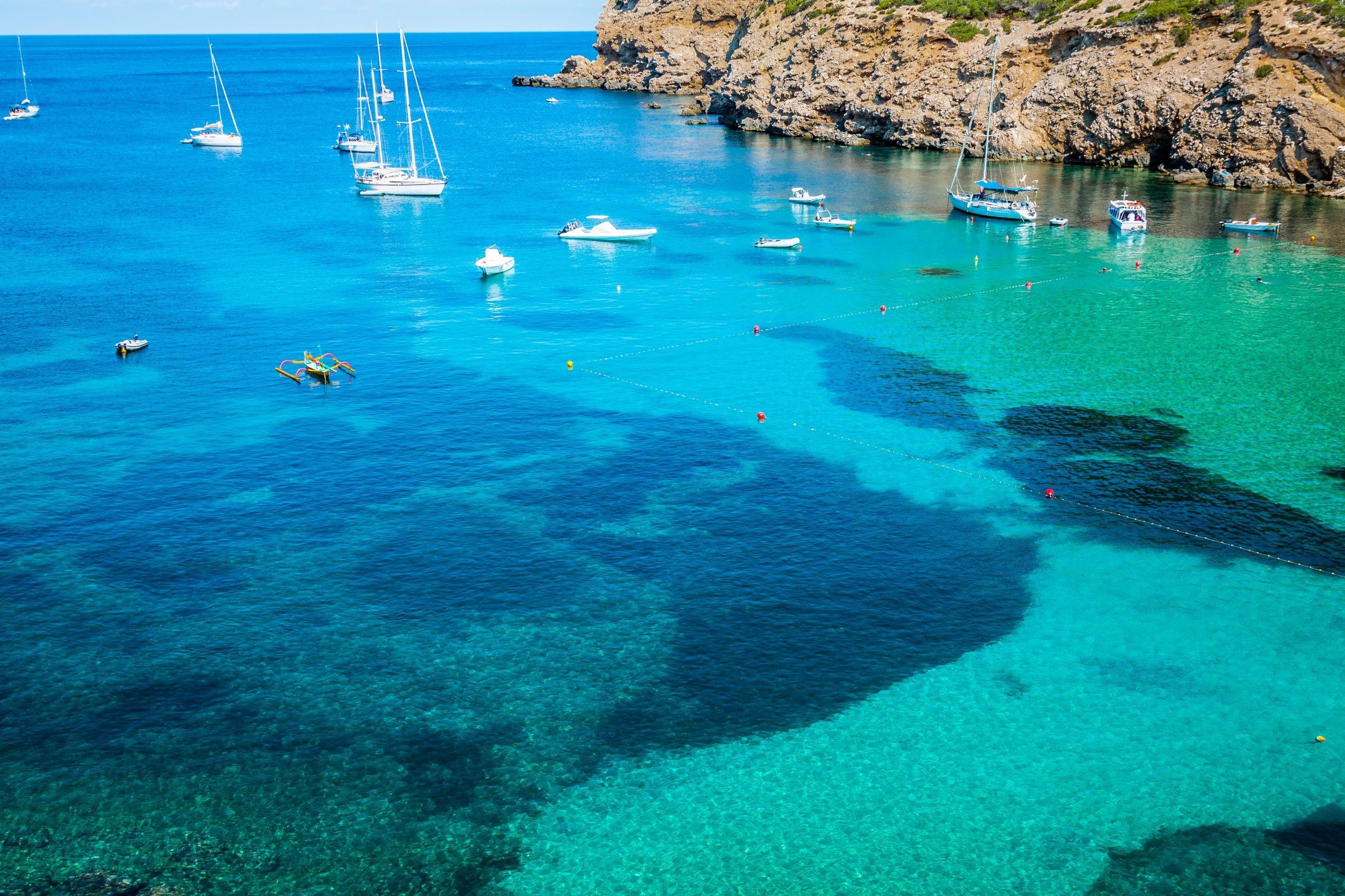Fonds D Ecran Espagne Cote A Voile Mer Ibiza Nature Image 442732 Telecharger Ibiza Espagne Fond Ecran