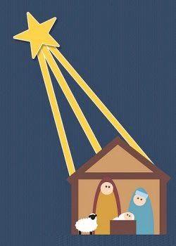 Manualidades para la escuela dominical navidad - Tarjetas navidenas cristianas ...