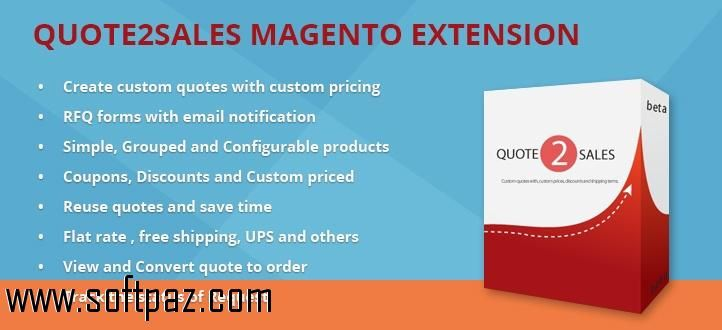 Get the quote2sale software for windows for free download