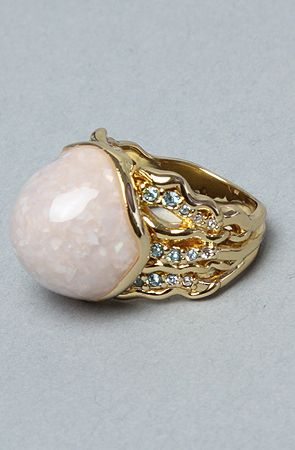 The Little Mermaid Collection Hidden Pearl Ring by Disney Couture ...