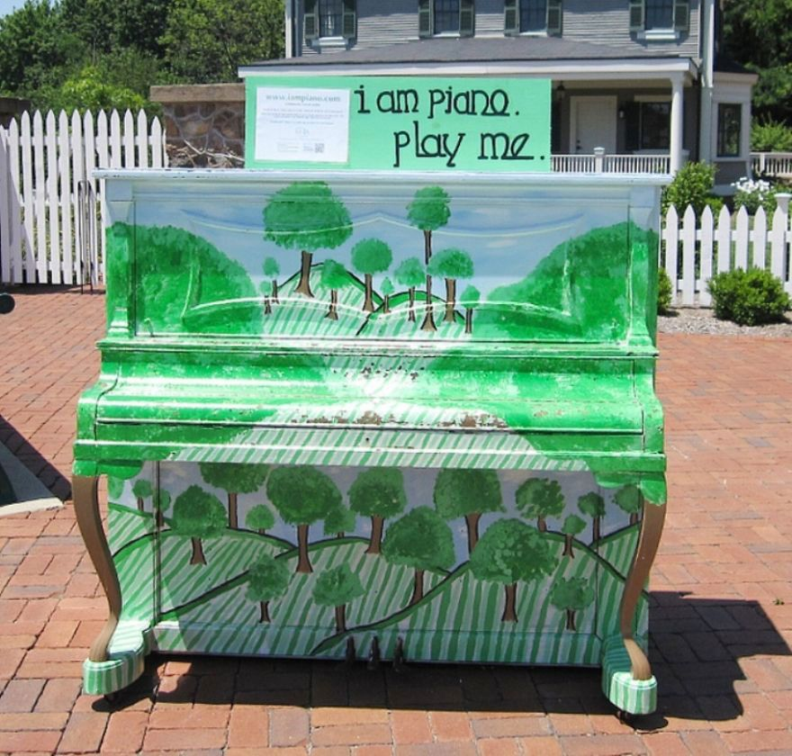 Boston Etats Unis - Play Me I'm Yours