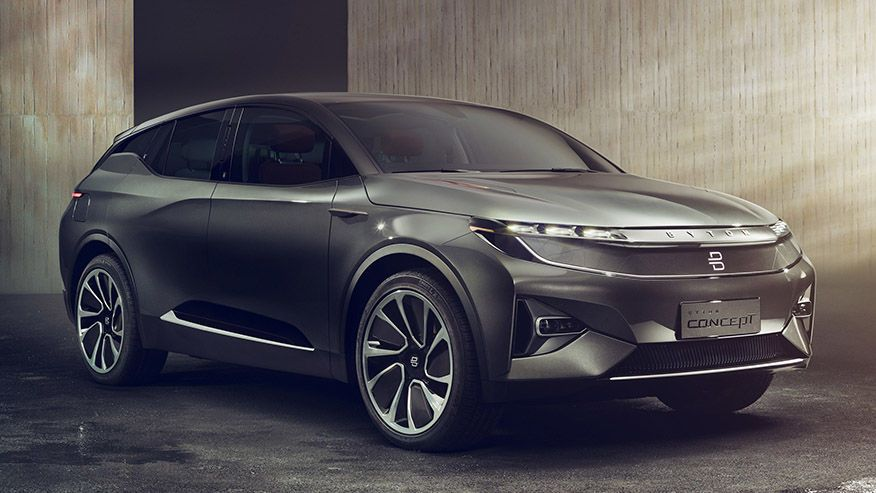 Byton Electric Suv Promised For 2019 With 45k Starting Price Loads Of Tech Electric Car Concept Car Experience Concept Cars