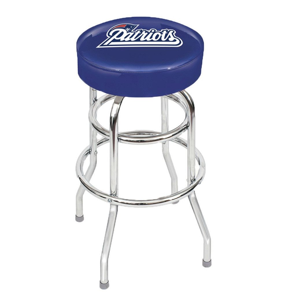 Awesome New England Patriots Bar Stool