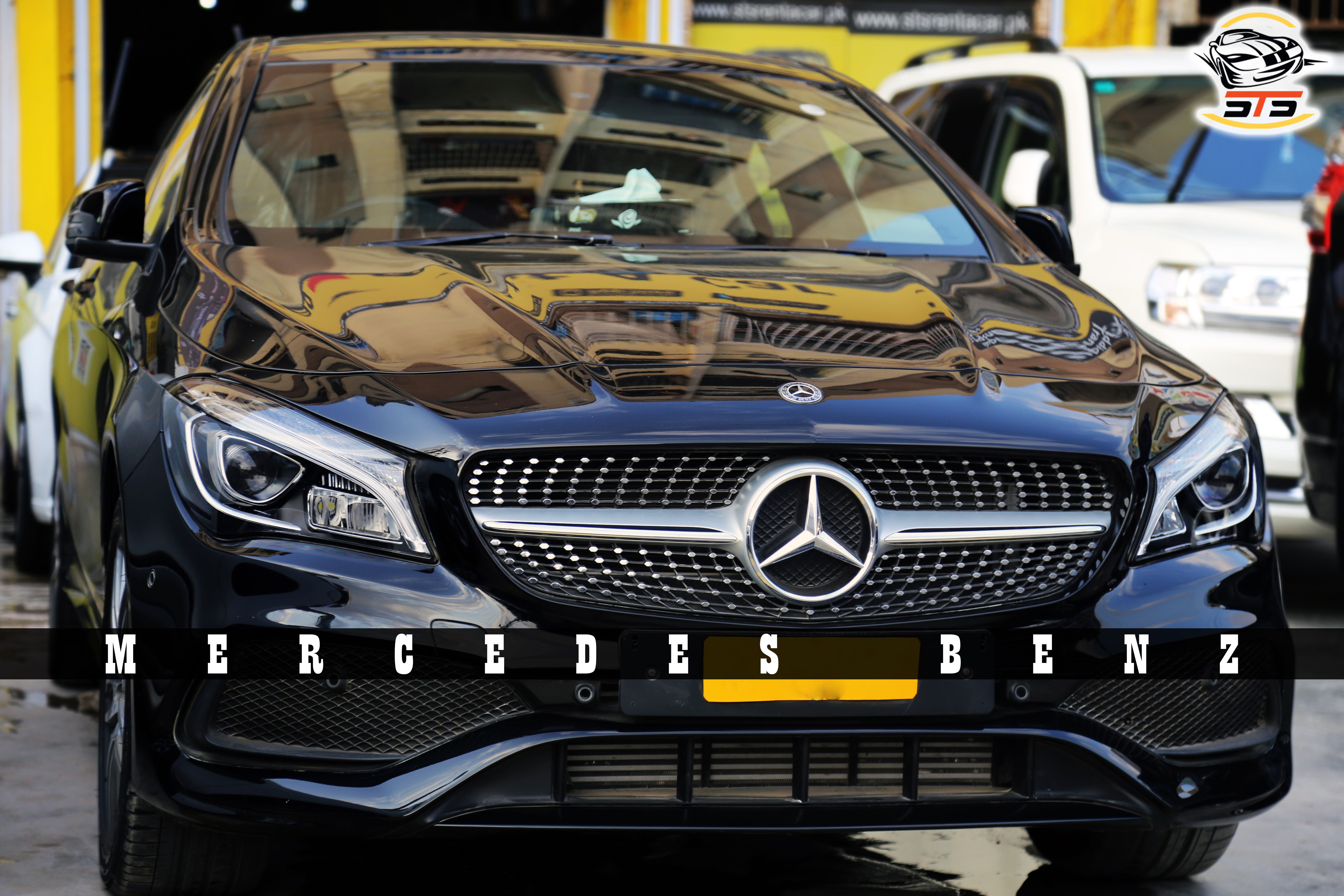 Big Name Biggest Brand Mercedes Benz Brand New 2018 With A Glorious Shape At Sts Rent A Car Call Us 03 111 999 787 Car Limousi Rent A Car Car Reliable Cars