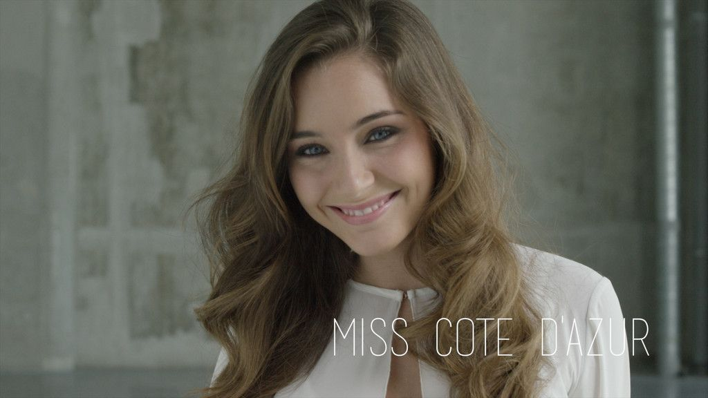 Charlotte Pirroni Miss cote d'azur 2014  L'une des favorites Miss France 2015