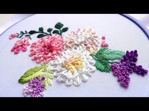 Embroidery Flowers For Beginners