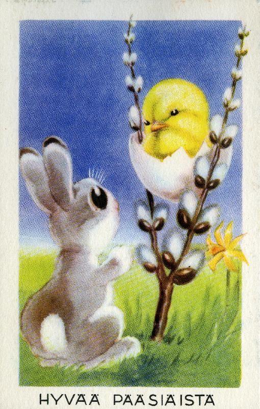 Hauskaa Pääsiäistä!  #pääsiäinen #eastern #tiput #puput #pajunkissat