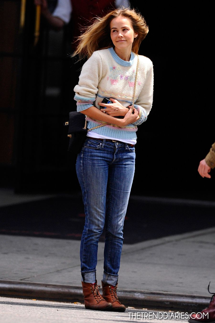 Isabel Lucas Out In New York City New York May 6 2012 Outfit Fashion Style Isabel Lucas Style Inspiration Fall Winter Outfits Verano