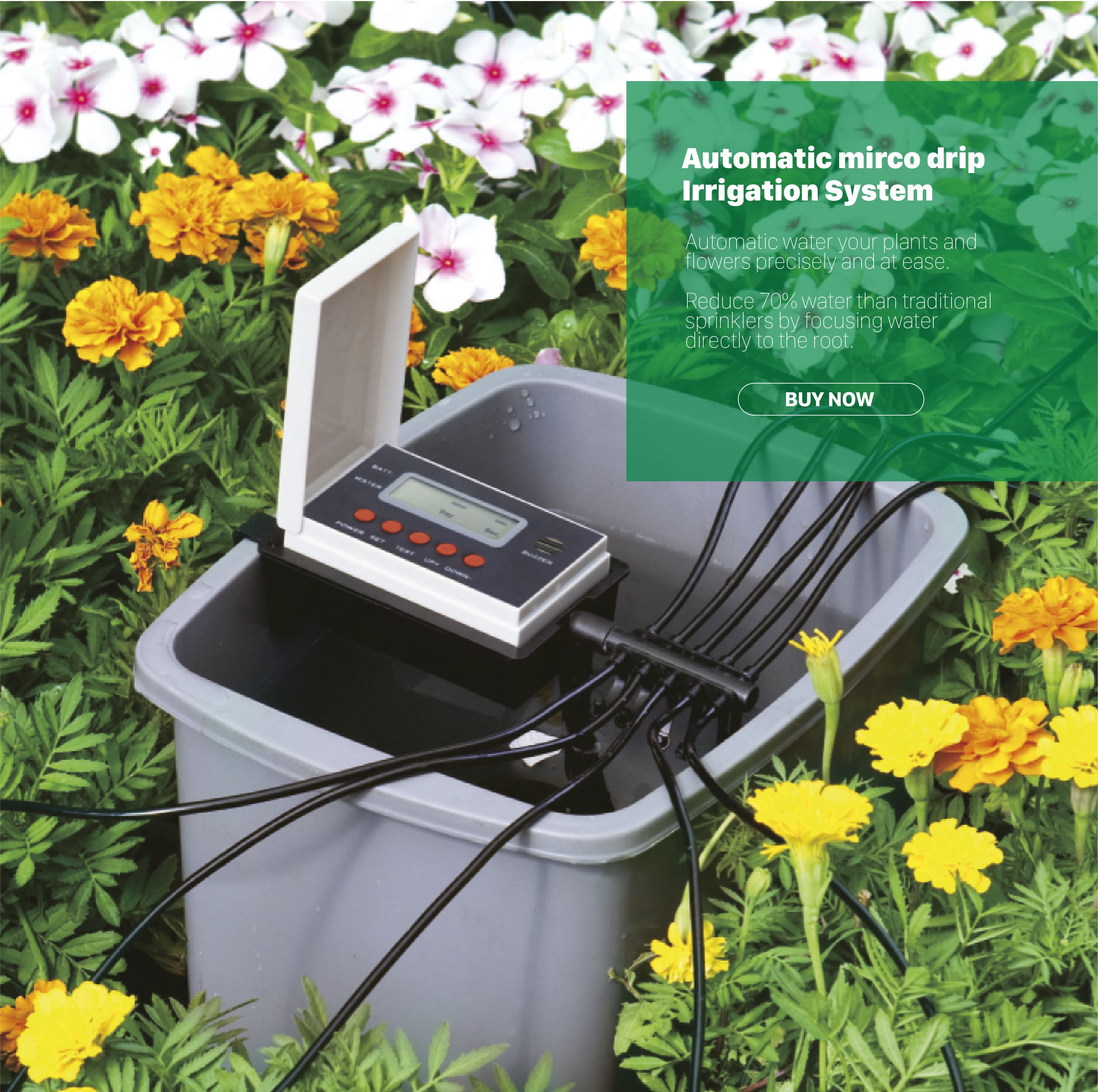 Automatic Water Your Plants And Flowers Precisely And At Ease Garden Irrigation System Drip Irrigation Kit Irrigation